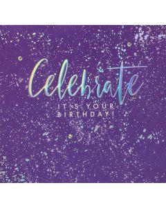 Celebrate it's your Birthday!