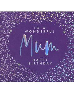 To a Wonderful Mum Happy Birthday