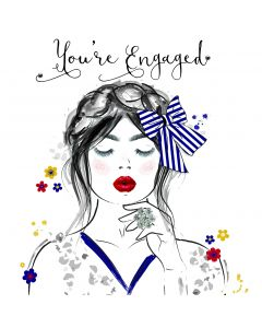 You're Engaged Card