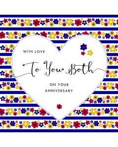 With love to you both on your Anniversary Card