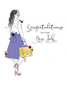 Congratulations on your New Job Card