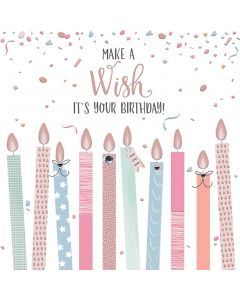 Make a Wish, It's your Birthday Card