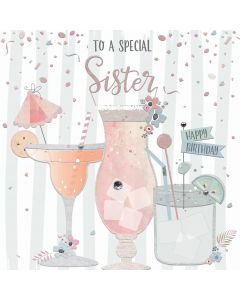 To a special Sister, Happy Birthday