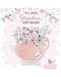 To a lovely Grandma, Happy Birthday