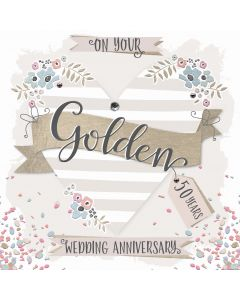 On your Golden Anniversary, 50 Years