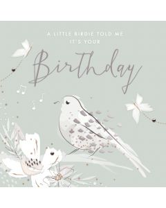 A little birdie told me its your Birthday