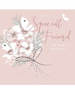 To a Special Friend on your Birthday Card
