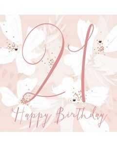 Happy Birthday, 21