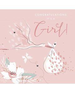 Congratulations, its a girl