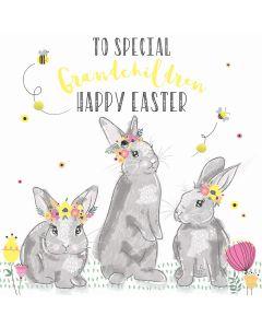 To special Grandchildren, Happy Easter