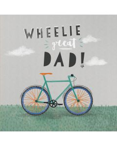 Wheelie Great Dad!