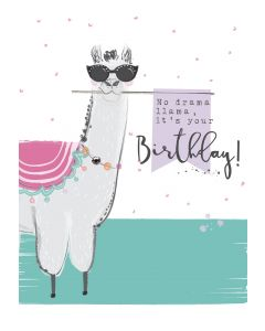 No drama llama it's only a Birthday
