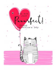 You are just puurfect! Happy Valentine's Day