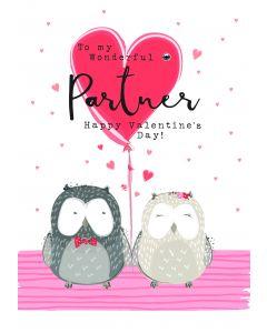 To my wonderful Partner, Happy Valentine's Day