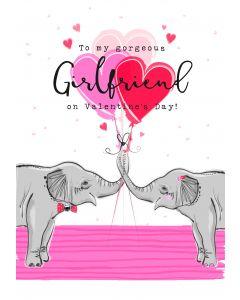 To my Gorgeous Girlfriend, Happy Valentine's Day