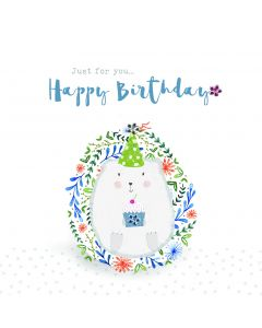 Just for You - Happy Birthday Card