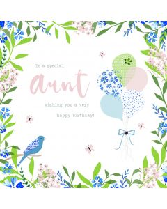 To a special Aunt, wishing you a very Happy Birthday Card