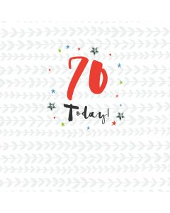 70 Today Card