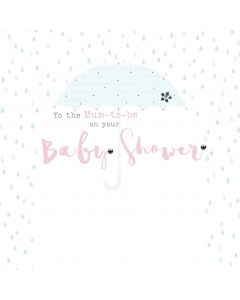 To the Mum-to-Be on your Baby Shower Card