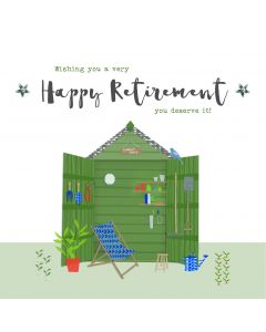 Wishing you a very Happy Retirement, you deserve it card