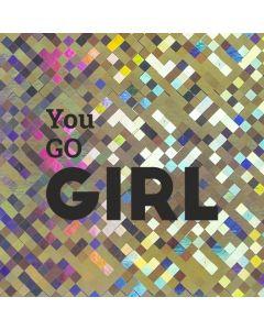 You Go GIRL - Holographic Celebration Card