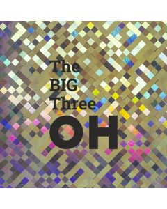 The BIG Three OH - Holographic 30th Birthday Card