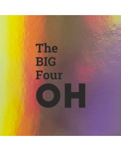 The BIG Four OH - Holographic 40th Birthday Card