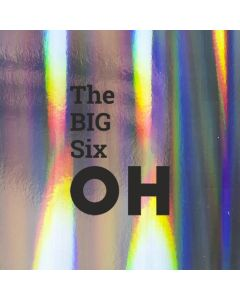 The BIG Six OH  - Holographic 60th Birthday Card