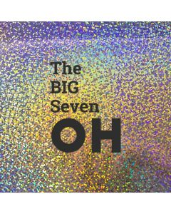 The BIG Seven OH - Holographic 70th Birthday Card