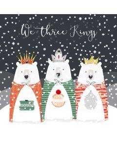 We Three Kings Christmas Card