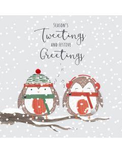 Season's Tweetings and Festive Greetings