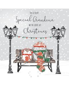 To a very Special Grandma with Love at Christmas Card