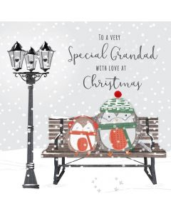 To a very Special Grandad with Love at Christmas Card