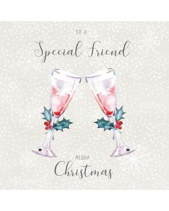 To a special Friend, Merry Christmas