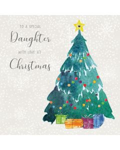 To a special Daughter, with love at Christmas