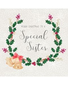 Merry Christmas to a Special Sister