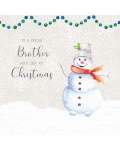 To a special Brother, with love at Christmas