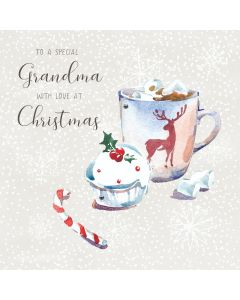 To a special Grandma, with love at Christmas