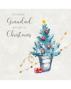 To a special Grandad, with love at Christmas