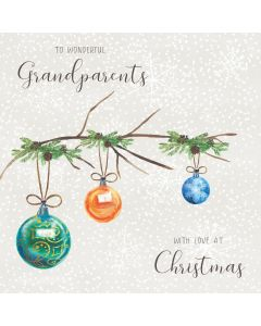 To wonderful Grandparents, with love at Christmas