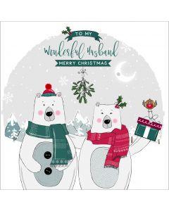 To my wonderful Husband, Merry Christmas