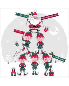 To special Grandchildren, Happy Christmas