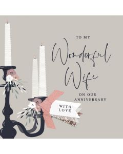 To my Wonderful Wife on our Anniversary