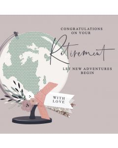 Congratulations on your Retirement Let New Adventures Begin