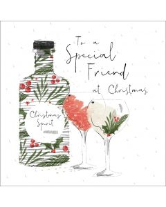 To a special Friend at Christmas