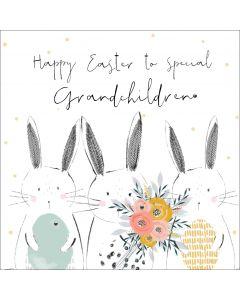 Happy Easter to special Grandchildren