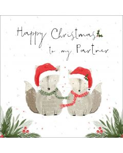 Happy Christmas to my Partner