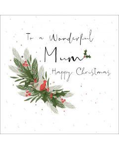 To a wonderful Mum, Happy Christmas