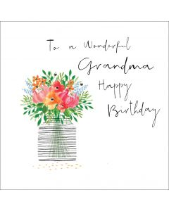 To a wonderful Grandma, Happy Birthday