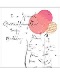 To a special Granddaughter, Happy Birthday